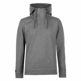 Firetrap Interlock Hoodie Mens - Charcoal Marl