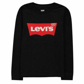 Levis Long Sleeve Batwing T Shirt - Black 023