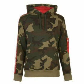 Alpha Industries RBF Tape Hoodie - Wood Camo
