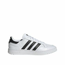 Modern Court Leather Trainers