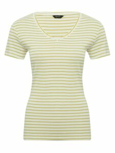 Women's Ladies Spirit v-neck striped top