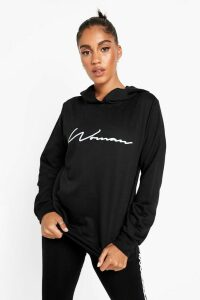 Womens Woman Hoodie And Legging Tracksuit - black - 16, Black