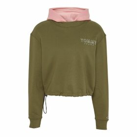 Two-Tone Cotton Hoodie