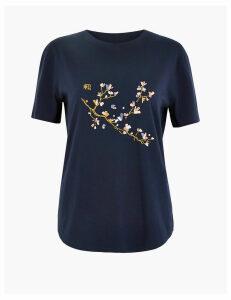 Per Una Pure Supima Cotton Regular Fit T-Shirt