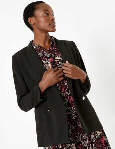 M&S Collection Double Breasted Blazer