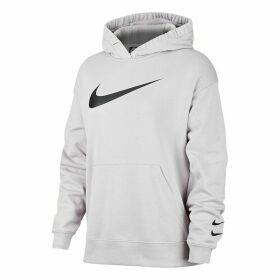 Swoosh Cotton Mix Long Hoodie