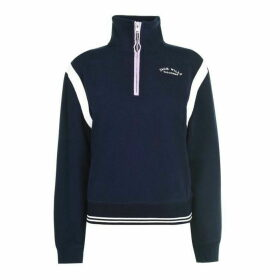 Jack Wills Ronford Half Zip Track Top - Navy