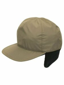 Prada Pre-Owned ear flap baseball cap - Green