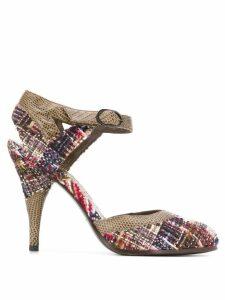 Chanel Pre-Owned tweed pumps - Brown