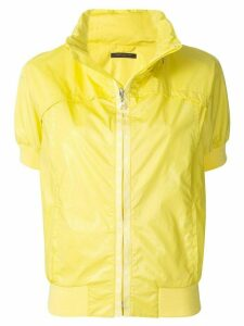 Louis Vuitton Pre-Owned stand-up collar short-sleeved jacket - Yellow