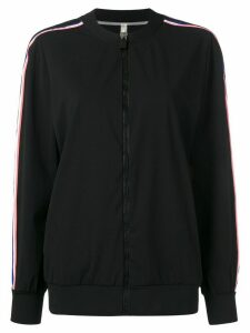 No Ka' Oi side stripe track top - Black