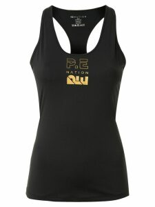 P.E Nation Air Ball logo tank top - Black