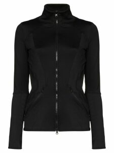 adidas by Stella McCartney ESS midlayer zipped top - Black