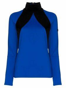 Bogner two-tone compression top - Blue
