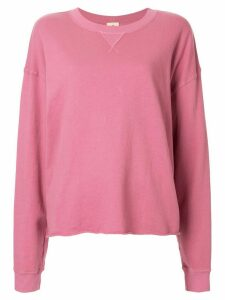 Year Of Ours loose-fit sweatshirt - PINK
