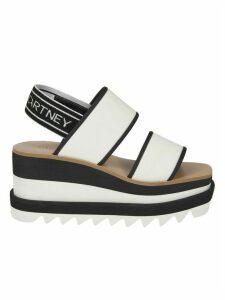 Stella McCartney Slingback Logo Sandals