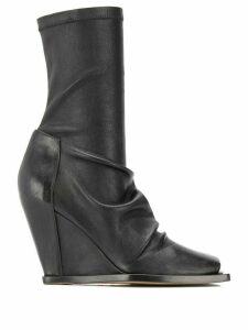 Rick Owens 110mm calf-length boots - Black