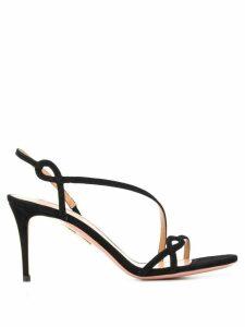 Aquazzura Serpentine 75mm sandals - Black