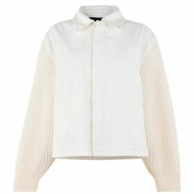 Haider Ackermann Knit Sleeve Jacket