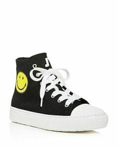 Joshua Sanders Women's Smiley High-Top Sneakers