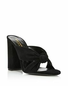 Saint Laurent Women's LouLou 100 Mule Sandals