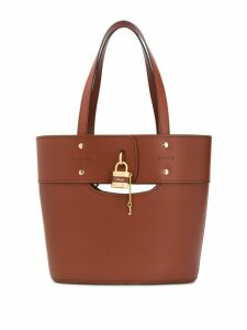 Chloé Aby tote bag - Brown