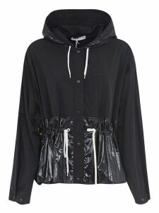 Givenchy Tied Waist Buttoned Hoodie