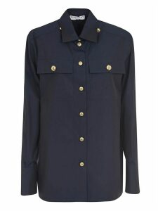 Givenchy Front Pocket Buttoned Shirt