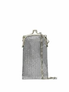 Paco Rabanne Pixel 1969 chain-mail crossbody bag - SILVER