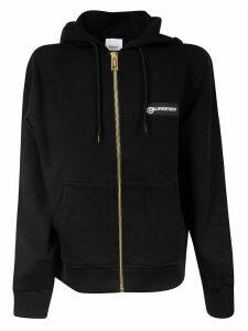 Burberry Zipped Logo Hoodie