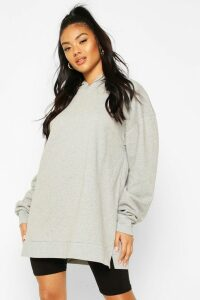Womens Extreme Oversized Hoodie - Grey - 12, Grey