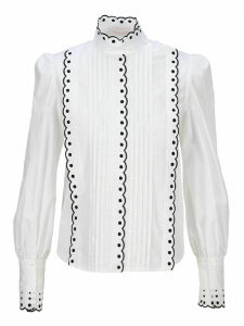 See by Chloé See By Chloe Scalloped Trim Blouse