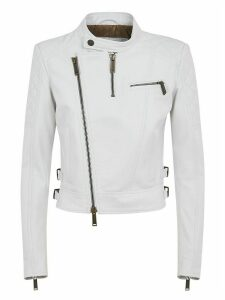 Dsquared2 Side Belted Detail Biker Jacket