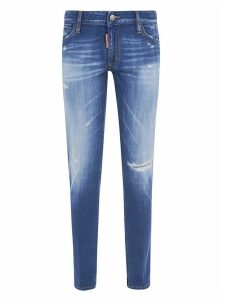 Dsquared2 Ripped Detail Jeans