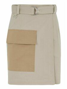 MSGM Belted Waist Skirt