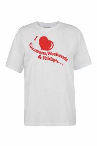 Victoria Victoria Beckham Heart T-shirt
