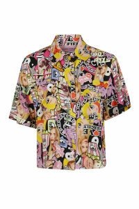 Chiara Ferragni Stampa Collage Shirt