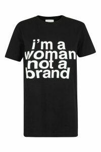 Erika Cavallini Im A Woman, Not A Brand T-shirt