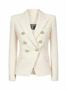 Balmain 6 Btn Tweed Blazer