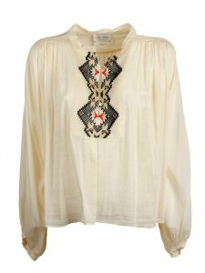 Forte Forte Voile Embroidered Round Neck Shirt