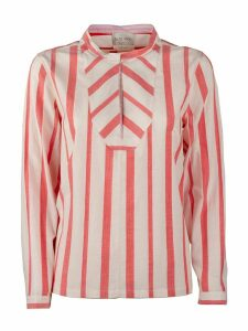 Forte Forte Striped Bourette Popeline Plaston Shirt