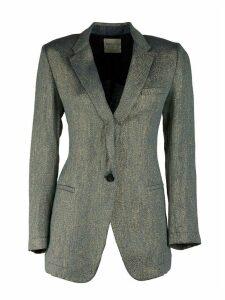 Forte Forte Linen Lurex Diagonal Jacket