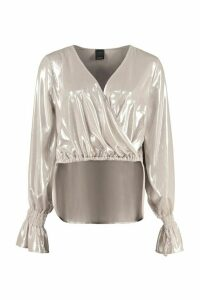 Pinko Maionese Georgette Blouse