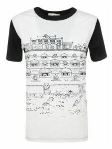 Lanvin Slim-fit Printed T-shirt