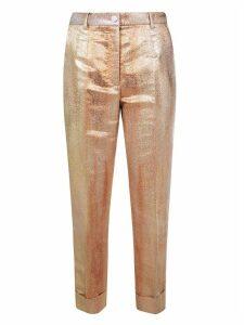 Dolce & Gabbana Metallic Trousers