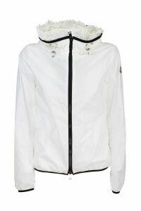 Moncler Lait nylon jacket. Fixed hood
