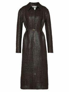 Bottega Veneta Tailored Leather Coat