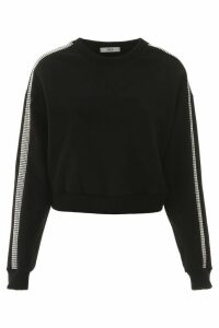 AREA Crystal-embellished Sweatshirt