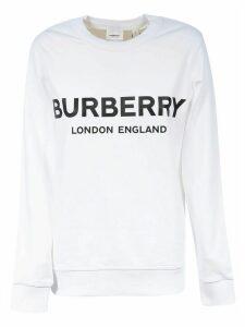 Burberry Logo Print Sweatshirt