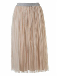 Fabiana Filippi Pleated Long Skirt